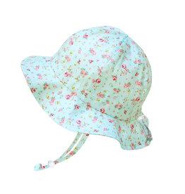 Twinklebelle twinklebelle UPF 50 cotton floppy sun hat - retro rose