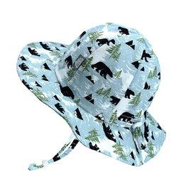 Twinklebelle twinklebelle UPF 50 cotton floppy sun hat - bears