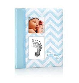 Pearhead pearhead babybook chevron blue