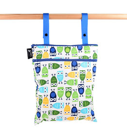 Colibri colibri double duty wet bag - owls