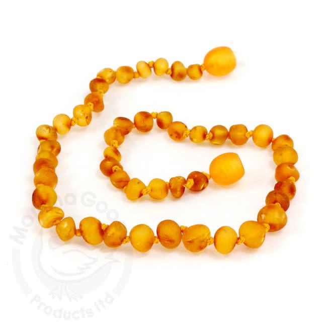Momma Goose momma goose raw honey amber baby necklace