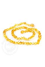 "Momma Goose momma goose lemon amber adult necklace 18"""