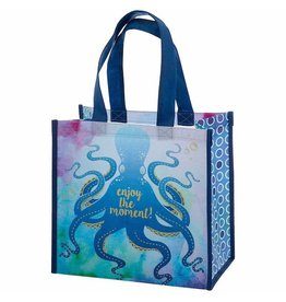 Karma karma recycled medium gift bag - octopus