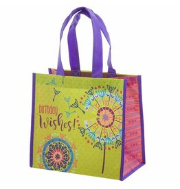 Karma karma recycled medium gift bag - dandelion