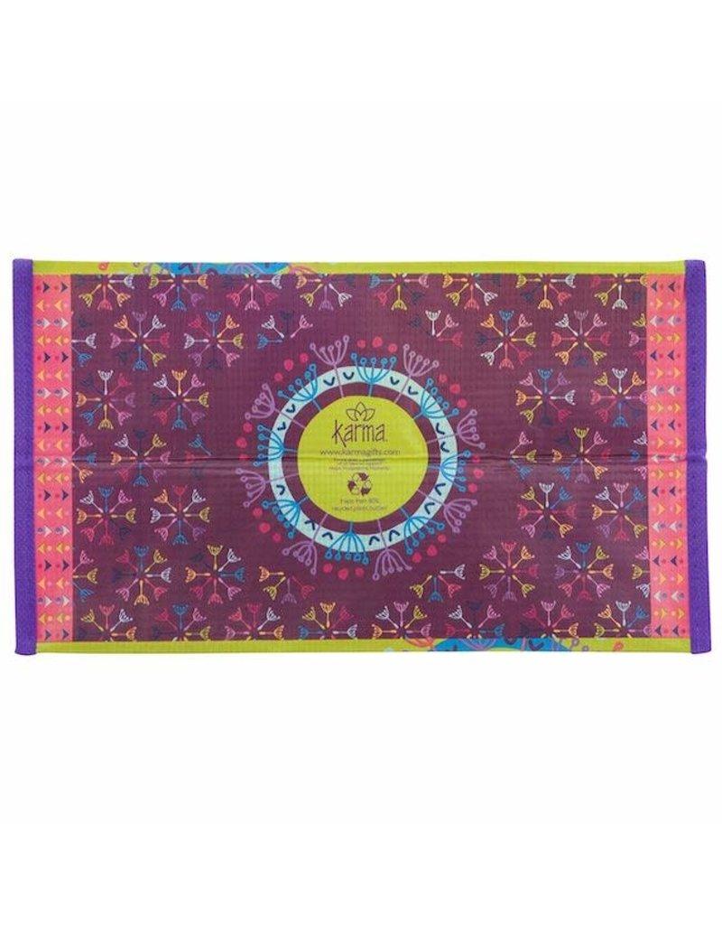 Karma karma recycled medium gift bag - dandelion