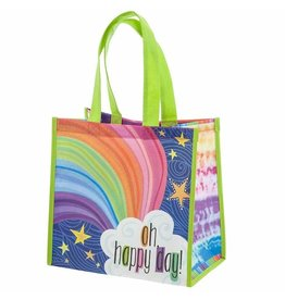 Karma karma recycled medium gift bag - rainbow