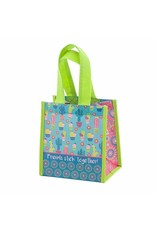 Karma karma recycled small gift bag - cactus