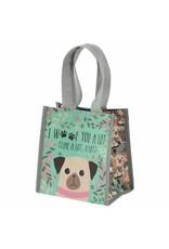 Karma karma recycled small gift bag - dog
