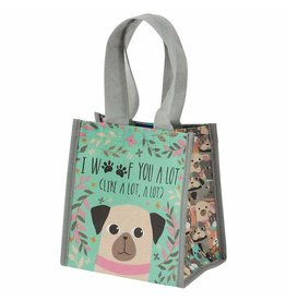 Karma karma recycled small gift bag - dog