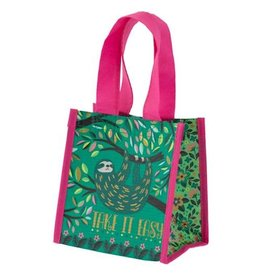 Karma karma recycled small gift bag - sloth
