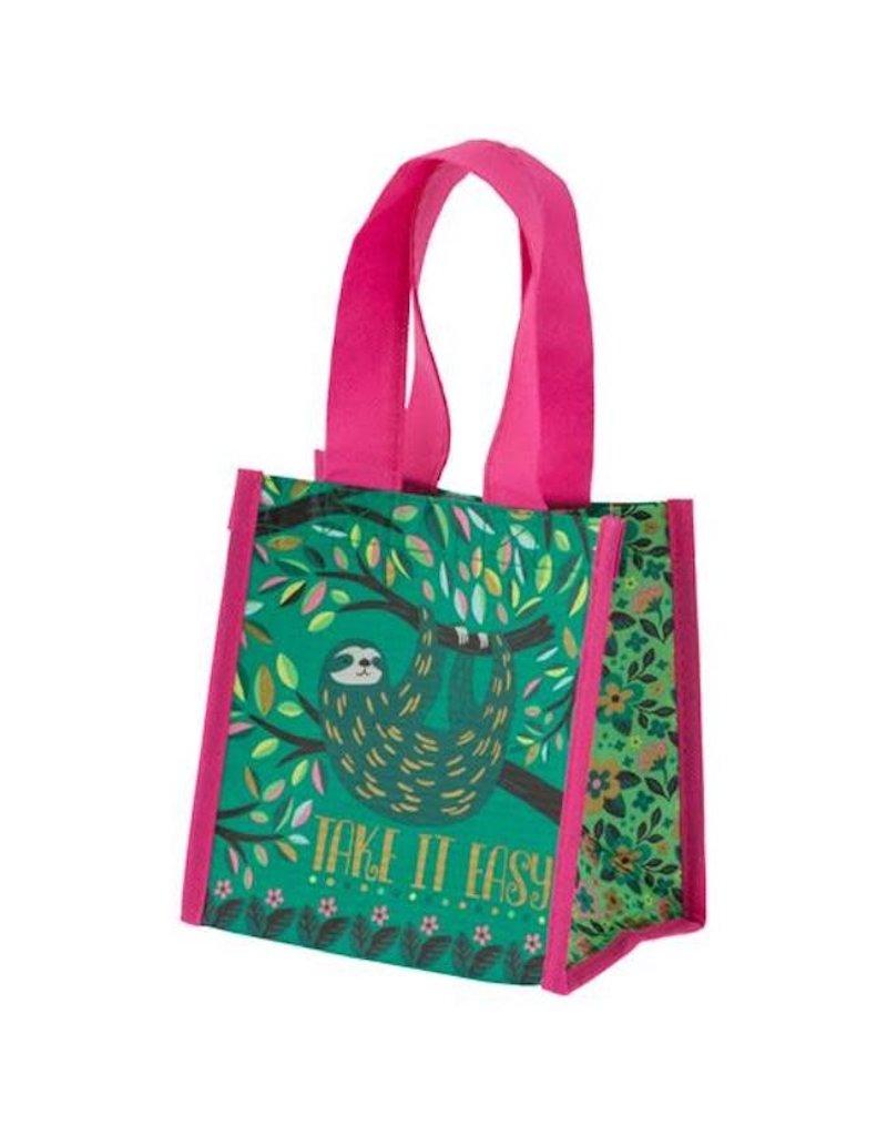 Karma karma recycled small gift bag - sloth