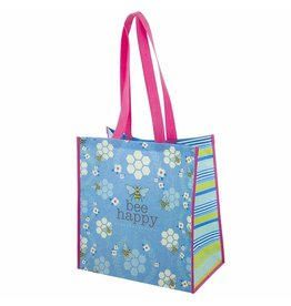 Karma karma recycled large gift bag - bee