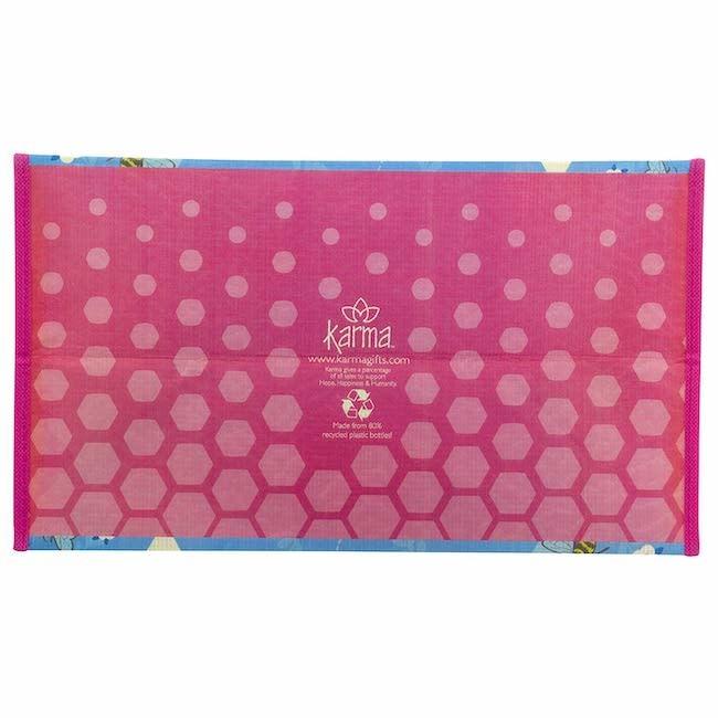 Karma karma recycled large gift bag - bee
