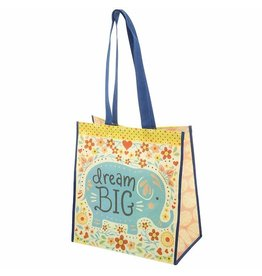 Karma karma recycled large gift bag - elephant