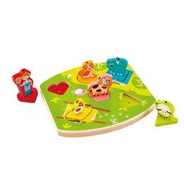 Hape Toys hape toys farmyard wooden sound puzzle