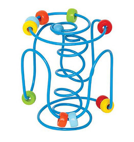 Hape Toys hape toys spring-a-ling bead maze