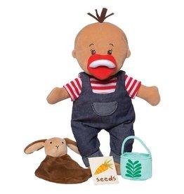 Manhattan Toy wee baby stella tiny farmer doll set