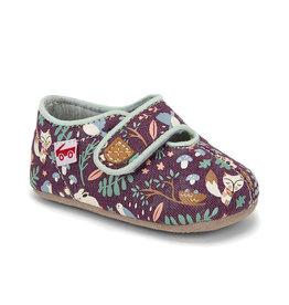 See Kai Run see kai run cruz crib shoe - purple woodland