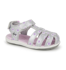 See Kai Run see kai run paley 2 water sandal - silver + purple