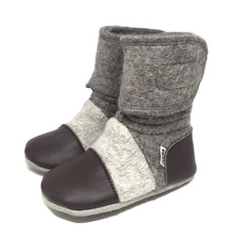 Nooks Design nooks design felted wool booties - coco