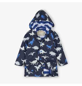Hatley hatley dino herd colour changing raincoat