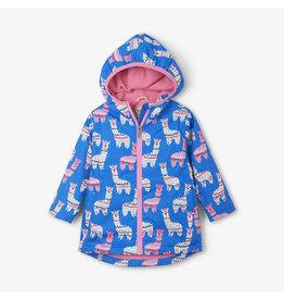 Hatley hatley adorable alpacas microfiber rain jacket