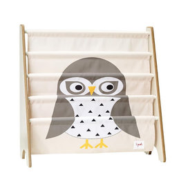 3 Sprouts 3 sprouts book rack - owl