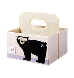 3 Sprouts 3 sprouts bear diaper caddy