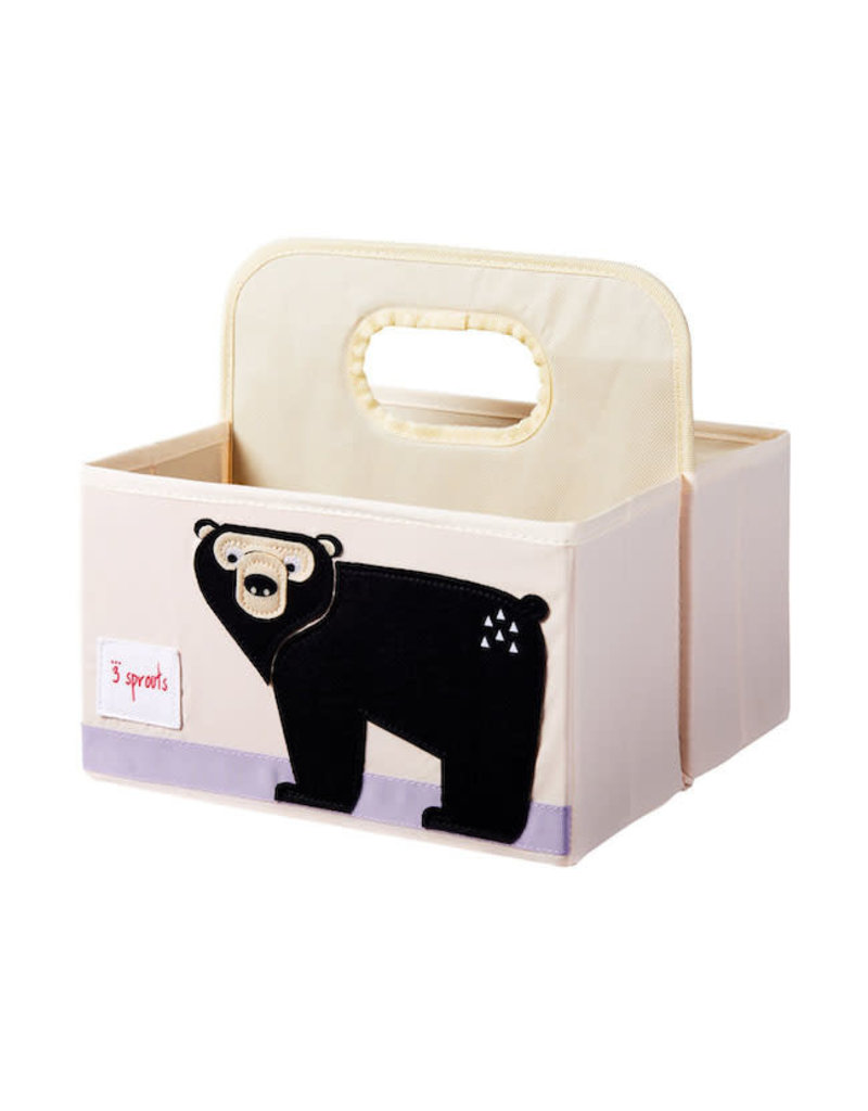 3 Sprouts 3 sprouts diaper caddy - bear