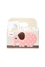 3 Sprouts 3 sprouts diaper caddy - elephant