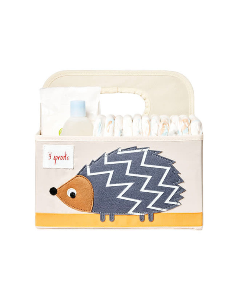 3 Sprouts 3 sprouts diaper caddy - hedgehog