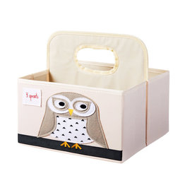 3 Sprouts 3 sprouts owl diaper caddy