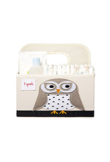 3 Sprouts 3 sprouts diaper caddy - owl