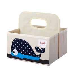 3 Sprouts 3 sprouts whale diaper caddy