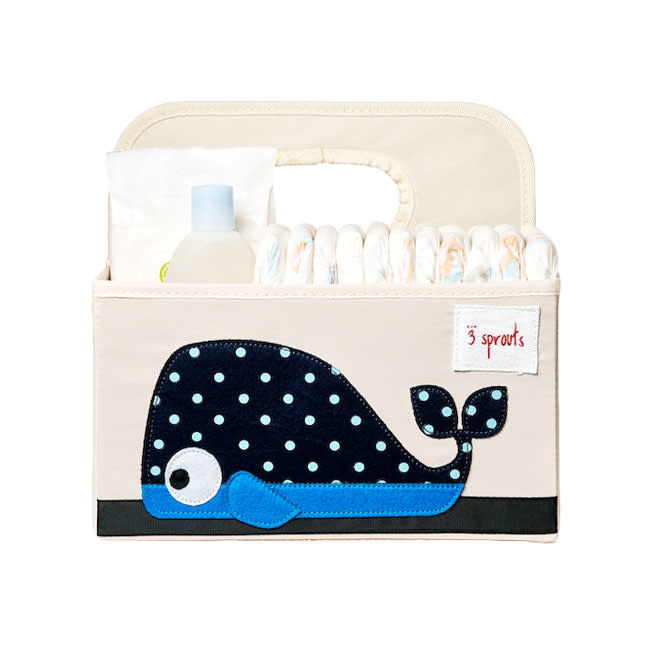 3 Sprouts 3 sprouts diaper caddy - whale