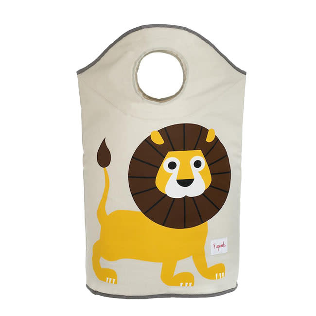 3 Sprouts 3 sprouts laundry hamper - lion