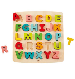 Hape Toys hape toys chunky alphabet wooden puzzle