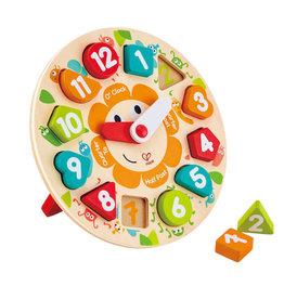 Hape Toys hape toys chunky clock wooden puzzle