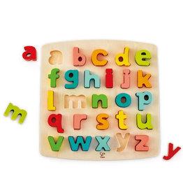 Hape Toys hape toys chunky lower case alphabet wooden puzzle