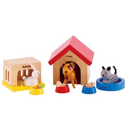 Hape Toys hape toys family pets play figures