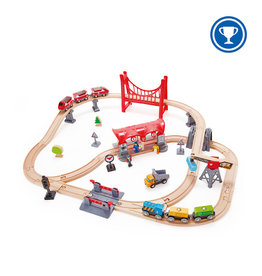 Hape Toys hape toys busy city rail set