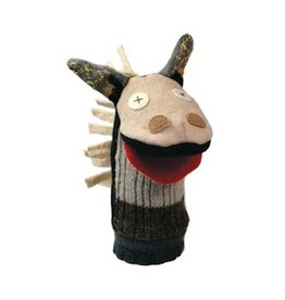 Cate & Levi cate & levi wool animal puppet - horse