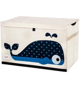 3 Sprouts 3 sprouts toy chest - whale