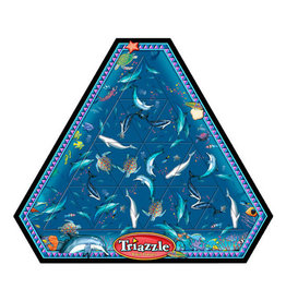 Channel Craft channel craft classic triazzle tray puzzle - dynamic dolphins