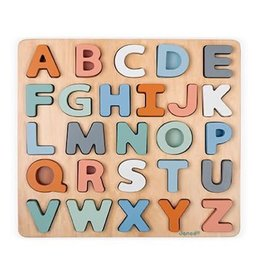Juratoys Group (Janod) janod wooden alphabet puzzle and chalkboard