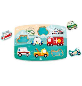 Hape Toys hape toys emergency wooden peg puzzle