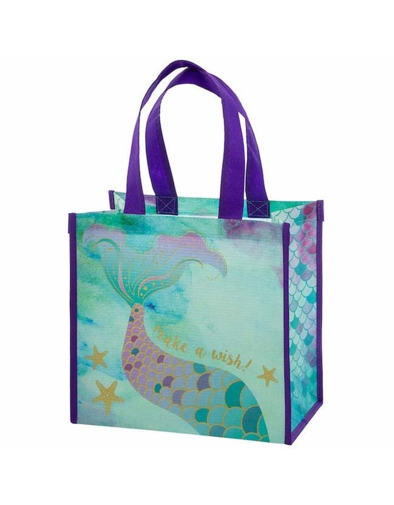 Karma karma recycled medium gift bag - mermaid