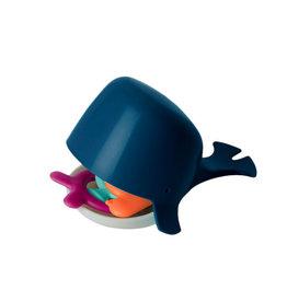Boon boon chomp hungry whale bath toy - navy, multi