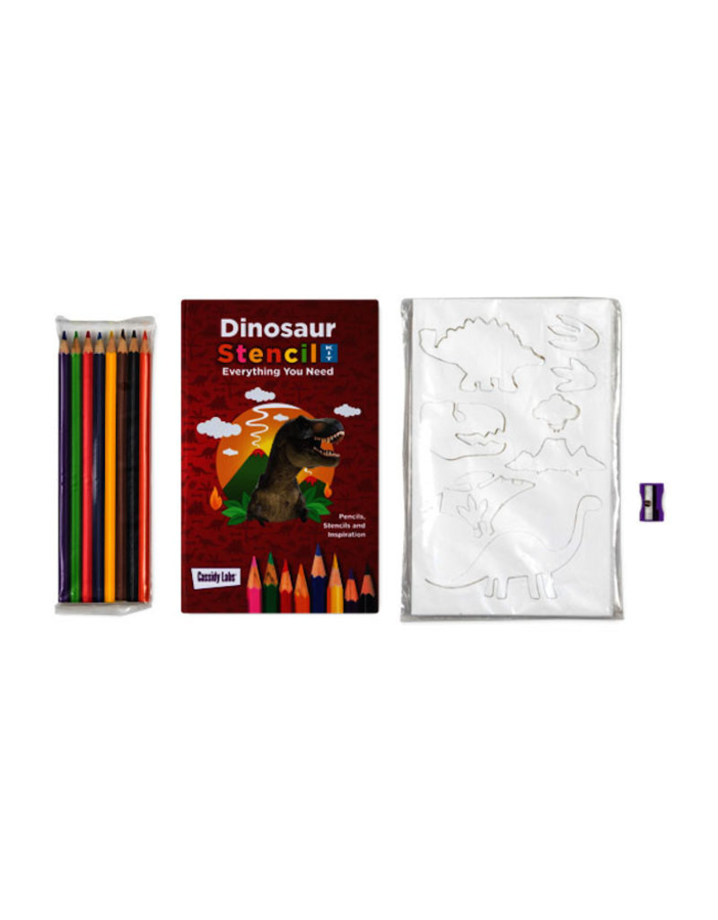 Cassidy Labs cassidy labs dino stencil kit