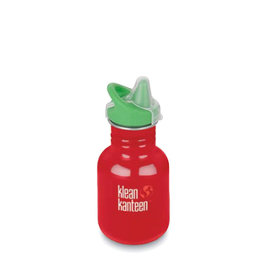 Klean Kanteen klean kanteen 12oz kid classic sippy - mineral red (old style)